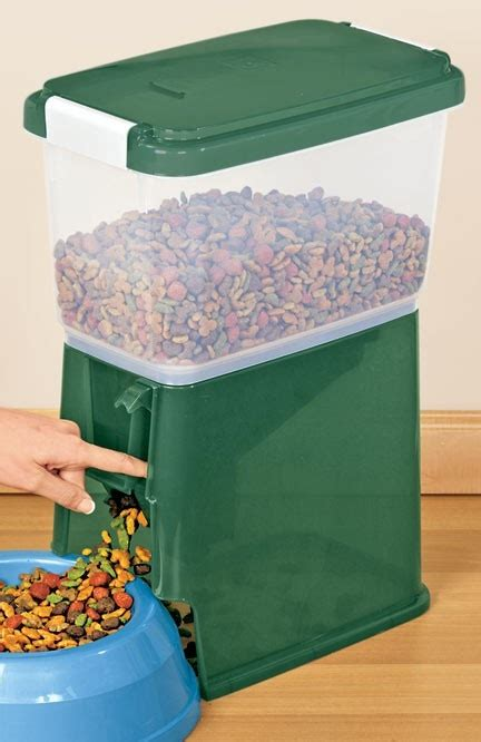 pet food dispenser storage container holds  pounds