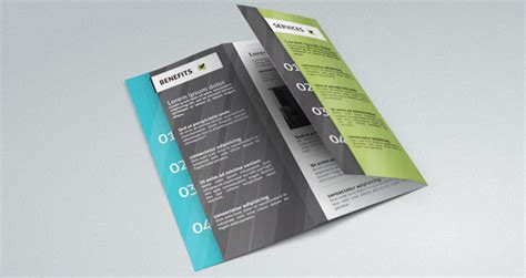 resume layout adobe indesign corporate tri fold brochure template brochure templates pixeden