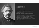 Albert Einstein Biography The Theory of Relativity ...