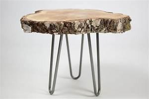Hairpin Tischbeine Ikea : die besten 25 couchtisch baumscheibe ideen auf pinterest couchtisch akazie live edge tisch ~ Eleganceandgraceweddings.com Haus und Dekorationen