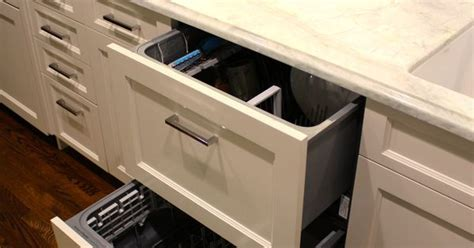 Fisher & Paykel double drawer dishwashers   panel ready
