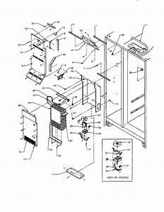 Amana Refrigerator  Amana Refrigerator Parts Diagram