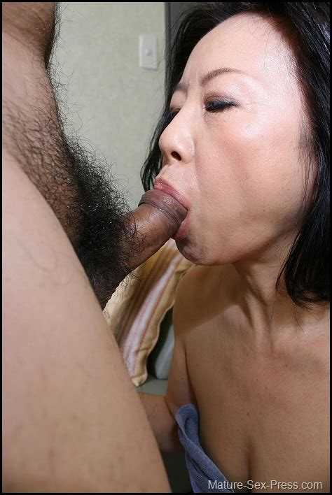 Mature Japanese Wife Sucking Dick And Get Fucked Mature