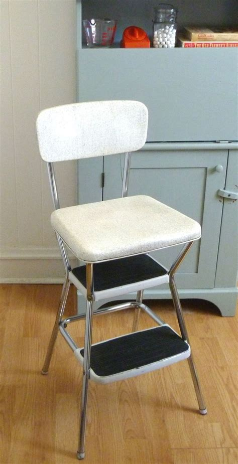 Folding Kitchen Step Stool Once Upon A Time 1950s