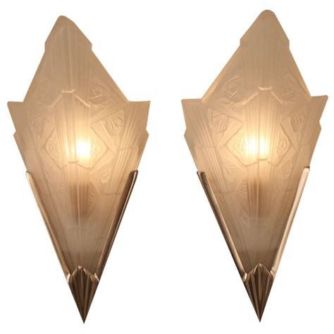 deco wall sconces deco wall sconces at 1stdibs