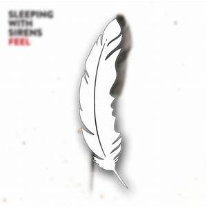 Feather White Sticker : RSRC : MerchNOW - Your Favorite ...