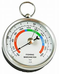 Ambient Weather DHR70B-STAINLESS Handheld Fishing ...