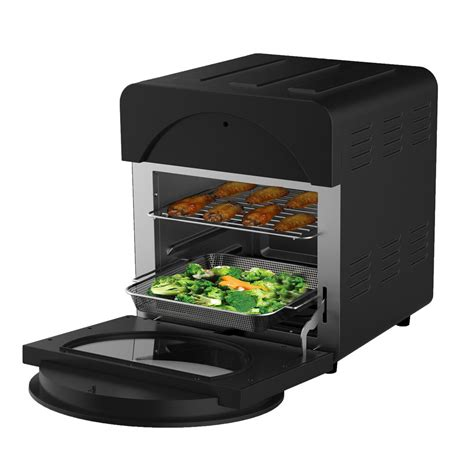fryer air oven convection healthy choice cage combo rotisserie 15l electric 1700w bk fryers sku appliances