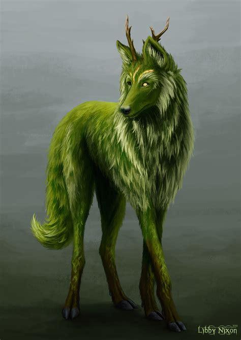 ArtStation - Fantasy Forest Creature Concept, Libby Nixon