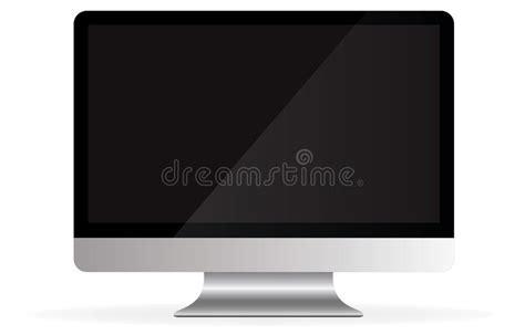 ordinateur de bureau d isolement d imac d apple vecteur image stock 233 ditorial image 15670189