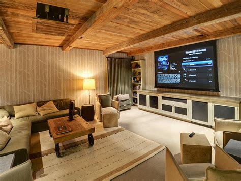 Basement Media Rooms Pictures, Options, Tips & Ideas