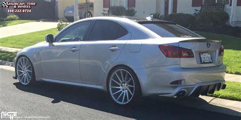 lexus is 250 custom wheels lexus is250 niche surge m112 wheels silver machined