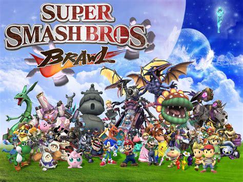 Everyone In Super Smash Bros Brawl Super Smash Bros