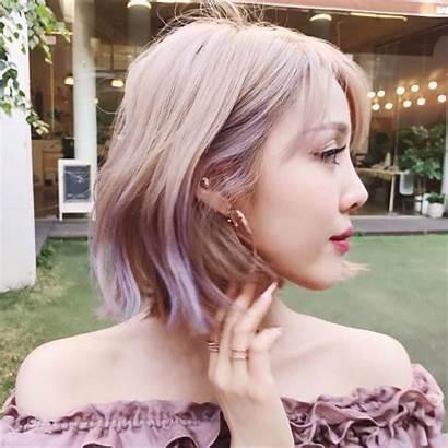 Bob Korean Short Hair Kpop Hairstyles Haircut