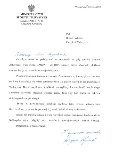 about it or list it list gratulacyjny od grzegorza karpińskiego aqua zdr 211 j wałbrzych