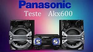 Panasonic Akx600  Test