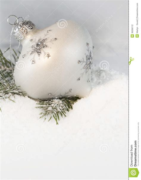 ivory christmas ornament 2 stock photography image 36266112