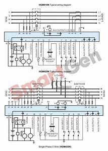 Smartgen Hgm420n Automatic Start Generator Controller  Amf   Hgm4xx Series Hgm400n Series Genset