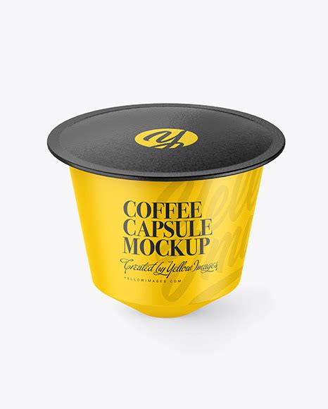 World's best curated collection of mockups for designers. Matte Coffee Cup Plate Mockup - Matte Coffee Capsule ...