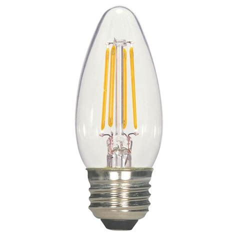 Satco Led Filament Ls by Satco S9260 Led C11 Torpedo Filament L 4 5 Watt 470