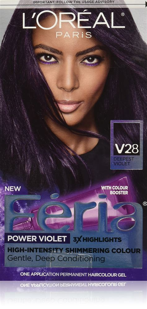 feria hair color purple l or 233 al feria multi faceted shimmering