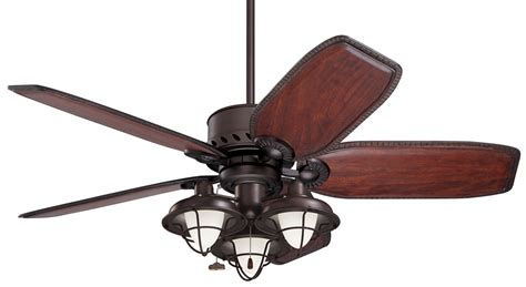 emerson lk40 boardwalk cage transitional ceiling fan light