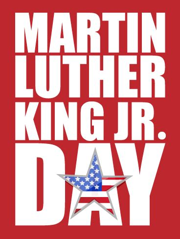 time celebrate martin luther king day card birthday greeting