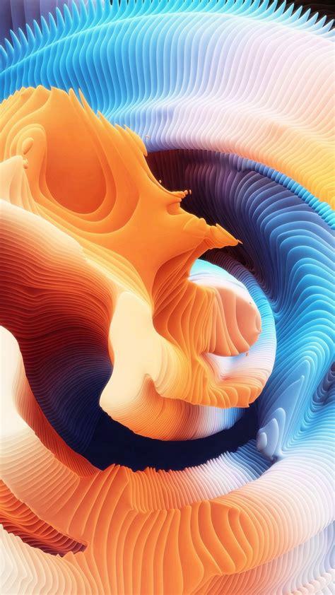 wallpaper hd spirals abstract os