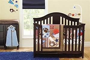 New 8 Pieces Baby Boy Sport Crib Bedding Set Shopswell