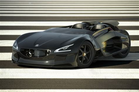 The French Tumbler Peugeots Ex1 340hp Ev Concept