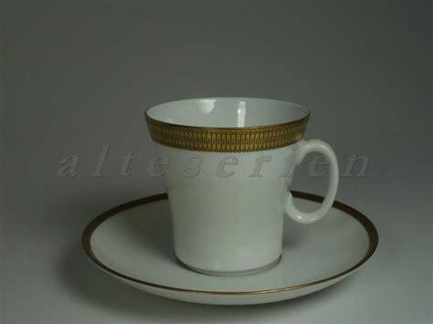 eschenbach porzellan alte serien kaffeetasse mit untere eschenbach alte formen goldrand