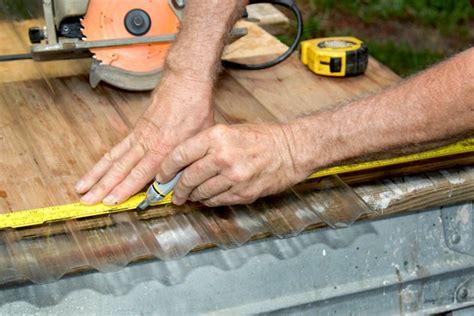 cut corrugated plastic roofing hunker