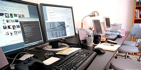 ordinateur de bureau grand ecran quelques idées pour améliorer le confort devant écran