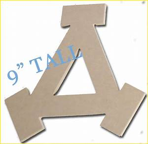 wood greek letter delta 9 inches for sorority crafts mdf With 9 inch wooden letters