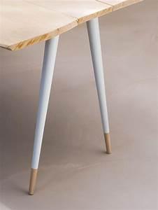 Pied Table Scandinave : fabricant de pieds compas en bois pied conique en h tre massif brut ~ Teatrodelosmanantiales.com Idées de Décoration
