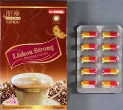 lishou strong slimming capsule therapeutic goods