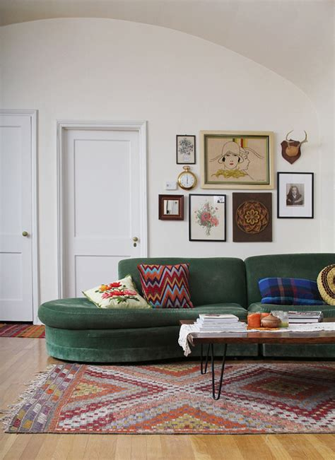 Green Sofa by The Great Green Sofa Honestly