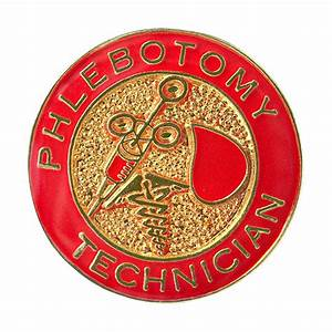 Phlebotomy technician pin merit group for Certified phlebotomy technician