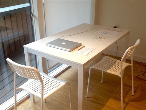 Melltorp Tisch Ikea by Ikea Melltorp Table 4 Ikea Adde Chairs In Guildford