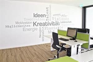 Wandgestaltung Büro Ideen : moderne b roeinrichtung kreatives b rogeb ude von ~ Lizthompson.info Haus und Dekorationen