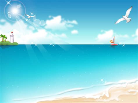Wallpapers Vector Beach