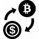 Bitcoin Exchange Icon Dollar Svg Onlinewebfonts