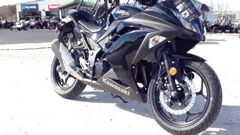 2013 Kawasaki Ninja 300 Flat Black Review