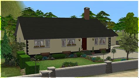 mod  sims sharwikeen  rural irish bungalow