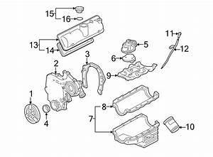 Chevrolet Uplander Engine Timing Cover  Liter  Cylinder
