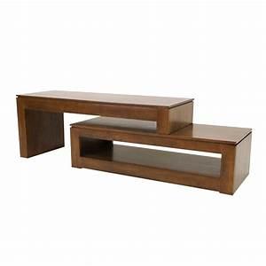Meuble Bois Exotique : modele meuble tv bois ~ Premium-room.com Idées de Décoration