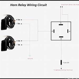 4 Stunning Wiring Diagram Car Horn Relay For You   S