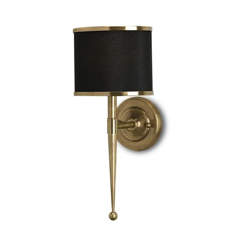 wall sconce shade mid century modern wall l brass primo by currey and