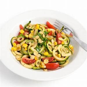 Salat Mit Zucchini : zucchini nudel salat rohkost glutenfrei ~ Lizthompson.info Haus und Dekorationen