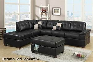black leather sectional sofa steal a sofa furniture With black sectional sofa